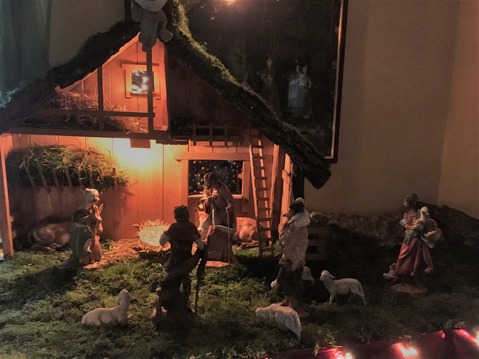 presepe 2019 ridint light